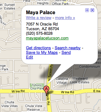 Maya Palace at Casas Adobes in Tucson, AZ